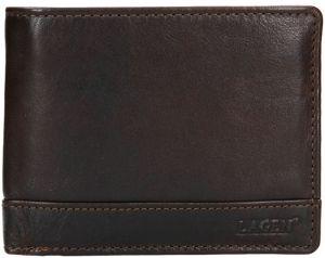 Lagen Pánská kožená peněženka 1996/t DK-BROWN mla0769