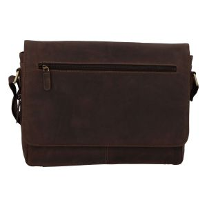 Pánská kožená taška hnědá – Tomas Woodoo Two hnědá 257737