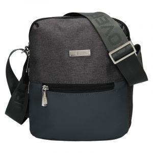 Pánská taška přes rameno Coveri World Nathan – šedá 110121