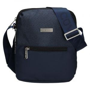 Pánská taška přes rameno Coveri World Nathan – modrá 110120
