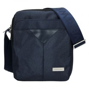 Pánská taška přes rameno Coveri World Edvin – modrá 110118
