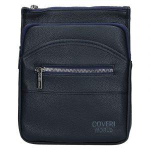 Pánská taška přes rameno Coveri World Gustav – tmavě modrá 110117