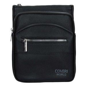 Pánská taška přes rameno Coveri World Gustav – černá 110115