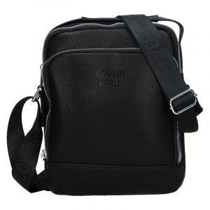 Pánská taška přes rameno Coveri World Leon – černá 110114