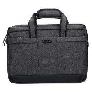 Pánská taška přes rameno Coveri World Oktavius – šedá 110133