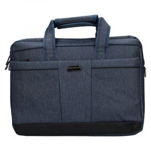 Pánská taška přes rameno Coveri World Oktavius – modrá 110132