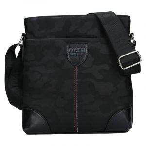 Pánská taška přes rameno Coveri World Perry – černá 110127