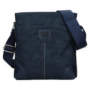 Pánská taška přes rameno Coveri World Perry – modrá 110126