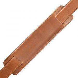 Kožený popruh na tašku – hnědý vachetta p6961