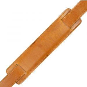 Kožený popruh na tašku – světle hnědý vachetta p6962