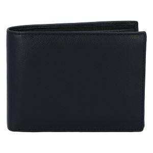 Kožená pánská černá peněženka – ItParr černá 74535