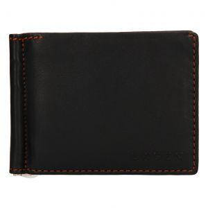 Pánská kožená peněženka Lagen Libor – tmavě hnědá 110275