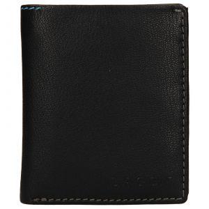 Pánská kožená peněženka Lagen Patrik – černá 110272