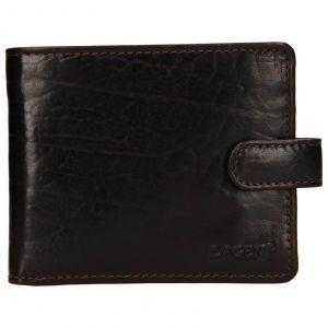 Pánská kožená peněženka Lagen Mareteo – tmavě hnědá 110271