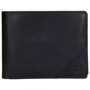 Pánská kožená peněženka Lagen Milan – modrá 110265