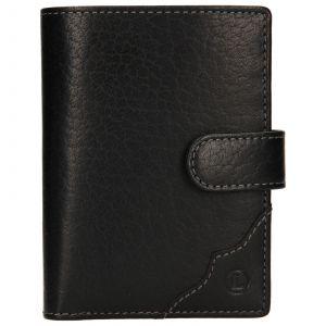 Pánská kožená peněženka Lagen Antonín – černá 110263