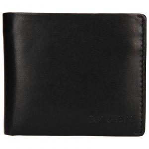 Pánská kožená peněženka Lagen Dalimil – černá 110247