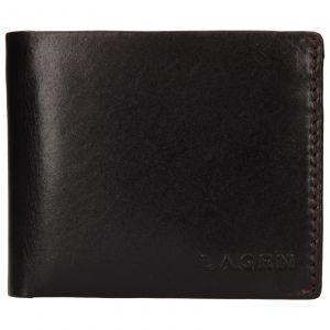 Pánská kožená peněženka Lagen Dalimil – hnědá 110246