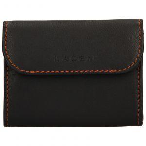 Pánská kožená peněženka Lagen Robin – hnědá 110245