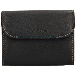 Pánská kožená peněženka Lagen Robin – černá 110244