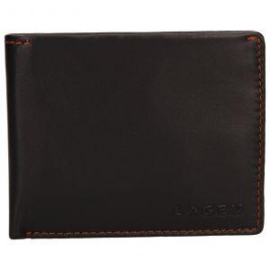 Pánská kožená peněženka Lagen Luket – hnědá 110233