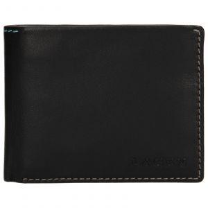 Pánská kožená peněženka Lagen Luket – černá 110232