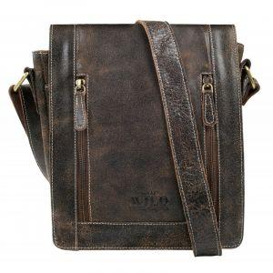 Pánská taška přes rameno Always Wild Libor – hnědá 110213