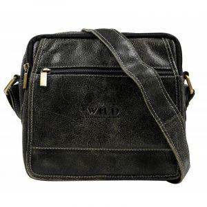 Pánská taška přes rameno Always Wild Didie – černá 110208