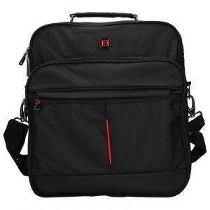 Pánská taška přes rameno Enrico Benetti Jerod – černá 110207