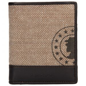 Pánská kožená peněženka Lagen Adam – hnědá 110196