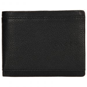 Pánská kožená peněženka Lagen Luke – černá 110194