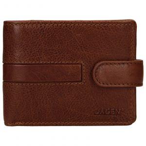 Pánská kožená peněženka Lagen Vander – světle hnědá 110157