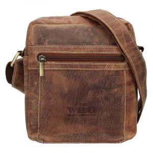 Pánská taška přes rameno Always Wild Freddy – světle hnědá 17200