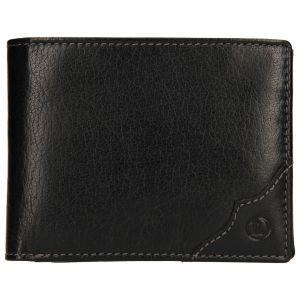 Pánská kožená peněženka Lagen Milan – černá 110266