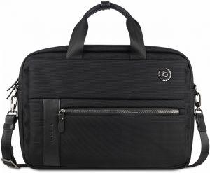 Bugatti Pánská taška na notebook 49640201 Black mbg0298