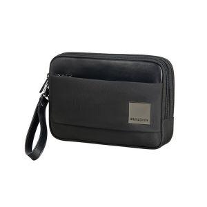 Samsonite Taška do ruky Hip-Square 15 cm – černá p39650