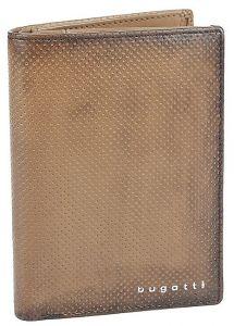 Bugatti Pánská kožená peněženka 49397102 Brown mbg0313