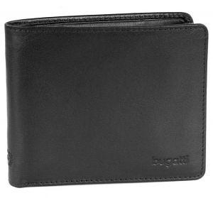 Bugatti Pánská kožená peněženka 49108101 Black mbg0314