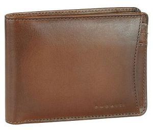 Bugatti Pánská kožená peněženka 49322807 Cognac mbg0317