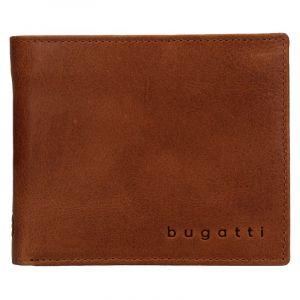 Pánská kožená peněženka Bugatti Michael – koňak 19049