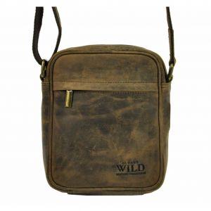 Pánská taška přes rameno Always Wild Filip – hnědá 110414
