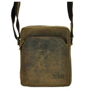 Pánská taška přes rameno Always Wild Greegor – hnědá 110413