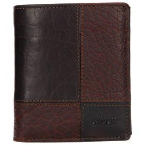 Pánská kožená peněženka Lagen Apolo – tmavě hnědá 110400