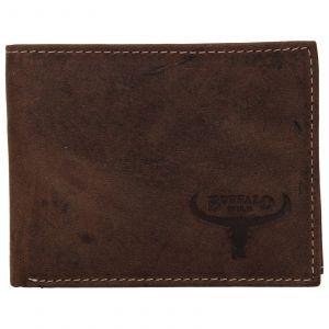 Pánská kožená peněženka Wild Buffalo Radim – hnědá 110391