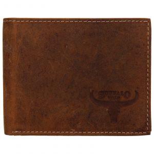 Pánská kožená peněženka Wild Buffalo Radim – světle hnědá 110390