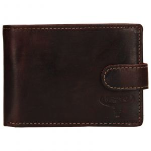 Pánská kožená peněženka Wild Buffalo Tommy – hnědá 110389