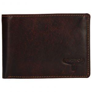 Pánská kožená peněženka Wild Buffalo Tommy – hnědá 110388