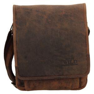 Pánská taška přes rameno Always Wild Fabios – hnědá 110415