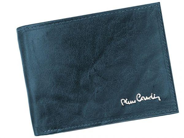 Pánská kožená peněženka Pierre Cardin Tilla – modrá 14273