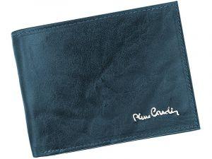 Pánská kožená peněženka Pierre Cardin Robert – modrá 11377